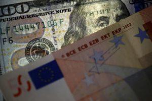 Aνοδικά κινείται το ευρώ έναντι του δολαρίου