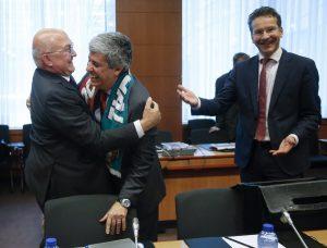 Έτσι εμφανίστηκε στο Eurogroup ο υπουργός της Πορτογαλίας (ΦΩΤΟ)