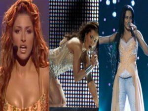 Eurovision 2017: Οι «καυτές» παρουσίες που έμειναν στην ιστορία του διαγωνισμού! [vids]