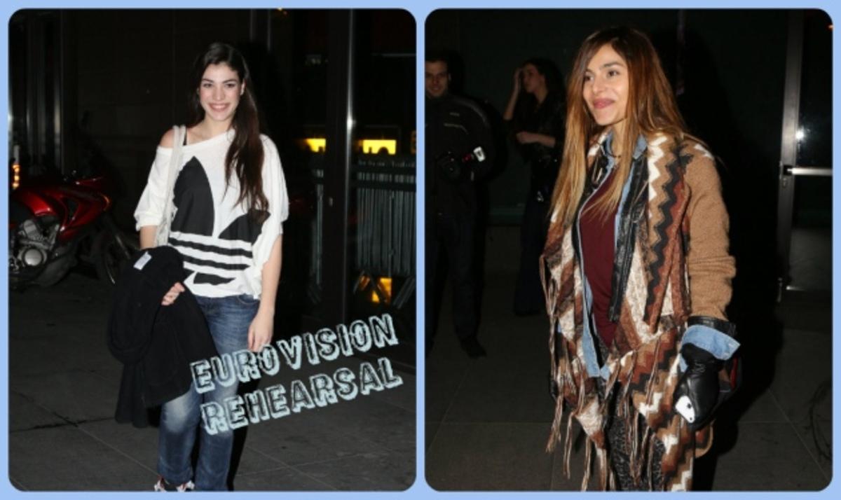 Ε. Ελευθερίου – Η. Αδάμου: Ξανά μαζί για την Eurovision 2013! Φωτογραφίες   Newsit.gr