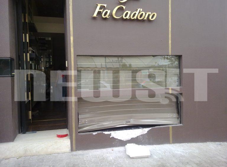Ληστές μπούκαραν με αυτοκίνητο σε κοσμηματοπωλείο – Δείτε ΦΩΤΟ | Newsit.gr