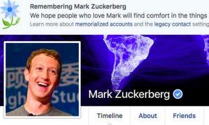 Να ζήσουμε να τον θυμόμαστε! Το Facebook «πέθανε» τον Mark Zuckerberg!