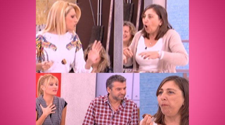 Η τηλεθεάτρια αρνήθηκε να δοκιμάσει το φαγητό της! Η Σάσα Σταμάτη την τάισε με το ζόρι! | Newsit.gr