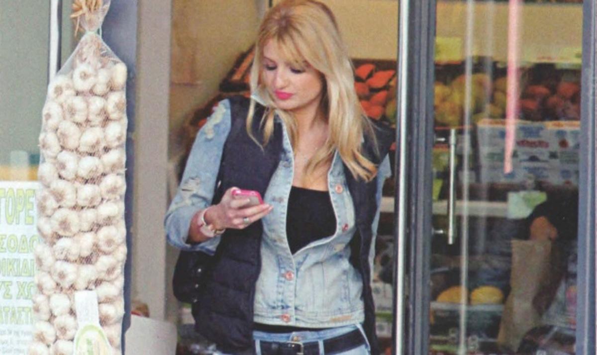 Φ. Σκορδά: Κάνει μόνη της τα ψώνια της εβδομάδας!   Newsit.gr