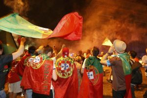 Euro 2016: Οι τρελοί πανηγυρισμοί των Πορτογάλων! (BINTEO)