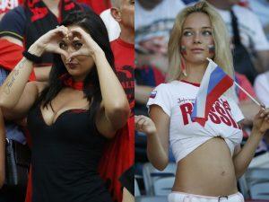 "Euro 2016: Οι πιο ""καυτές"" οπαδοί που… αναστάτωσαν τις εξέδρες! ΦΩΤΟ"