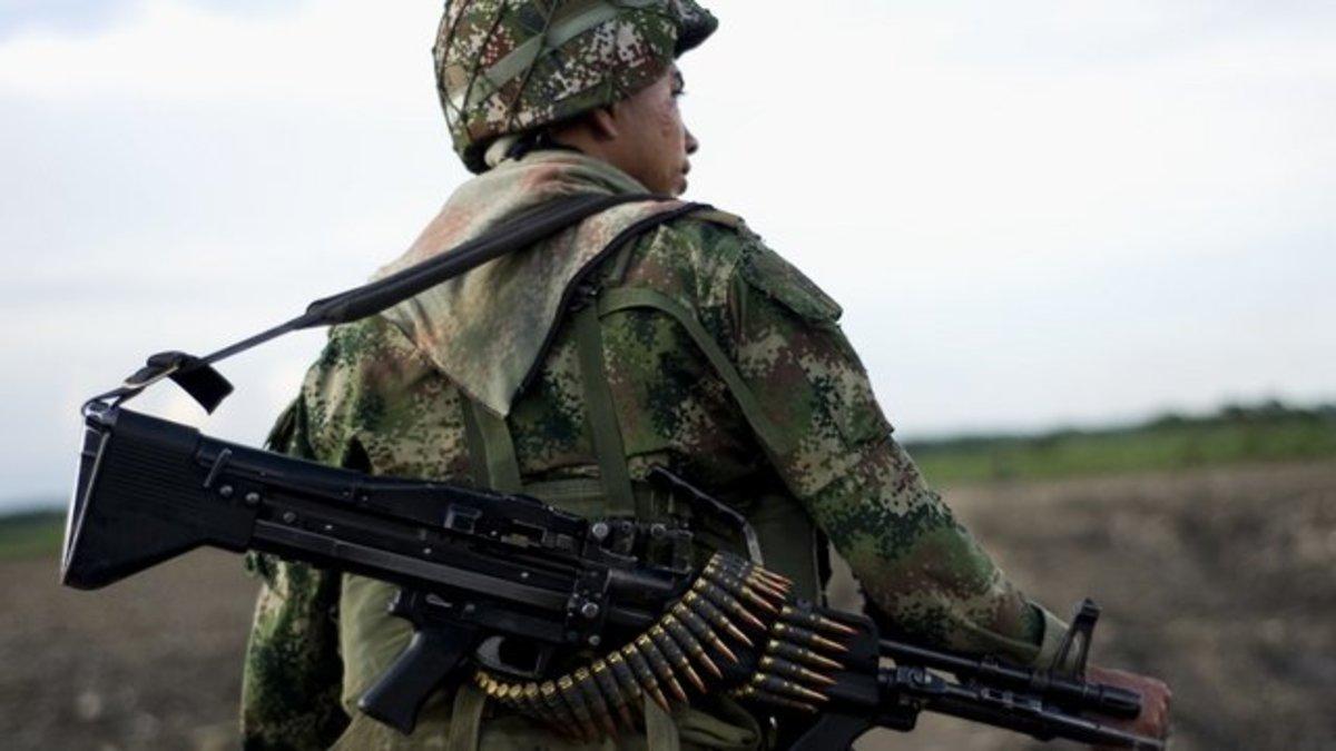 15 νεκροί σε μάχες στην Κολομβία   Newsit.gr