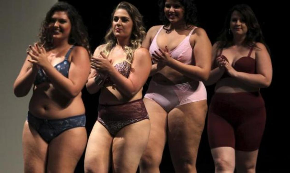 Fashion Week με υπέρβαρα μοντέλα! Δες το βίντεο   Newsit.gr