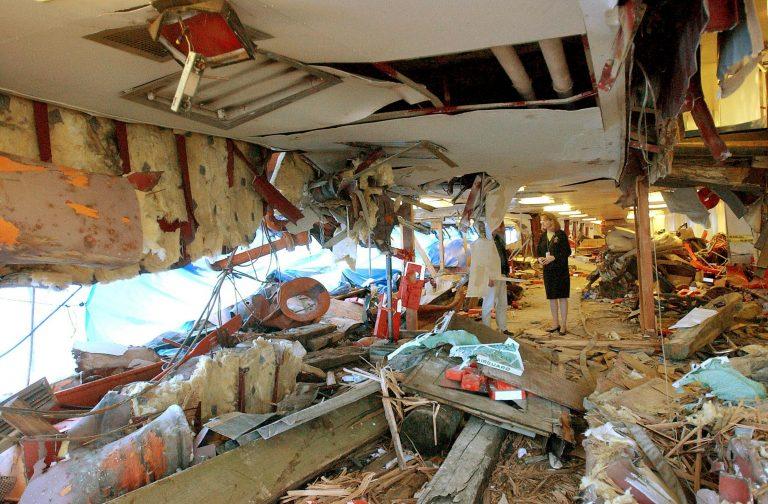 Δεκάδες τραυματίες σε σύγκρουση φέριμποτ   Newsit.gr
