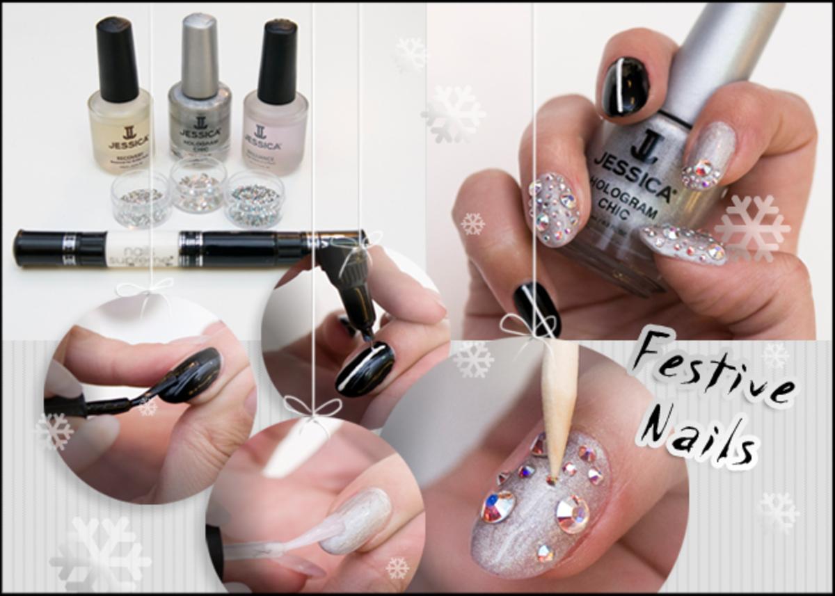 Πώς να κάνεις ένα glamorous nail art για το ρεβεγιόν της Πρωτοχρονιάς! | Newsit.gr