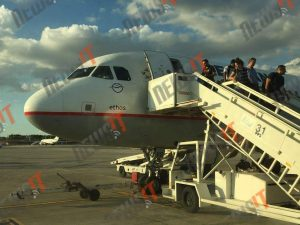 Λύθηκε το μυστήριο! Για ένα… λαπτοπ ταλαιπωρήθηκαν στην πτήση για Αθήνα