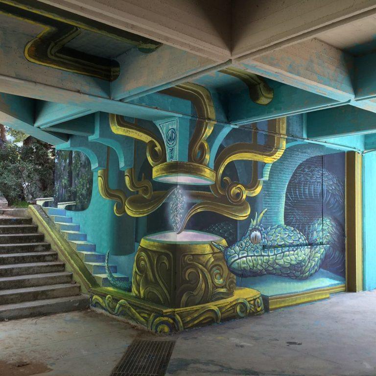 Το νέο εντυπωσιακό γκράφιτι της Αθήνας [pics, vid] | Newsit.gr