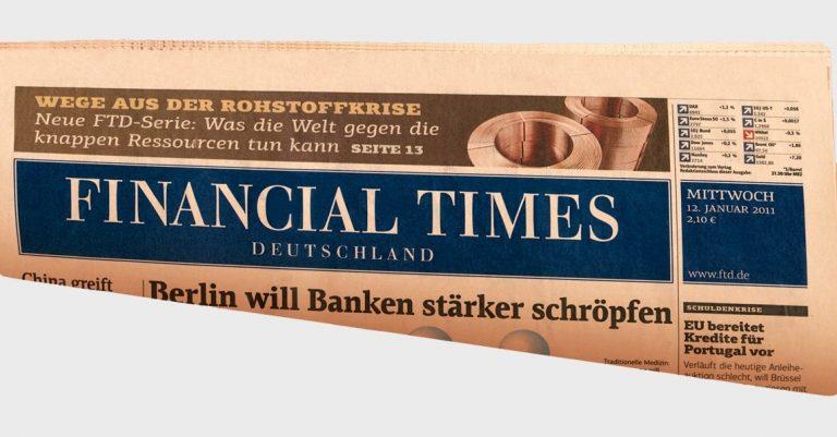 Με «λουκέτο» απειλούνται οι γερμανικοί Financial Times | Newsit.gr