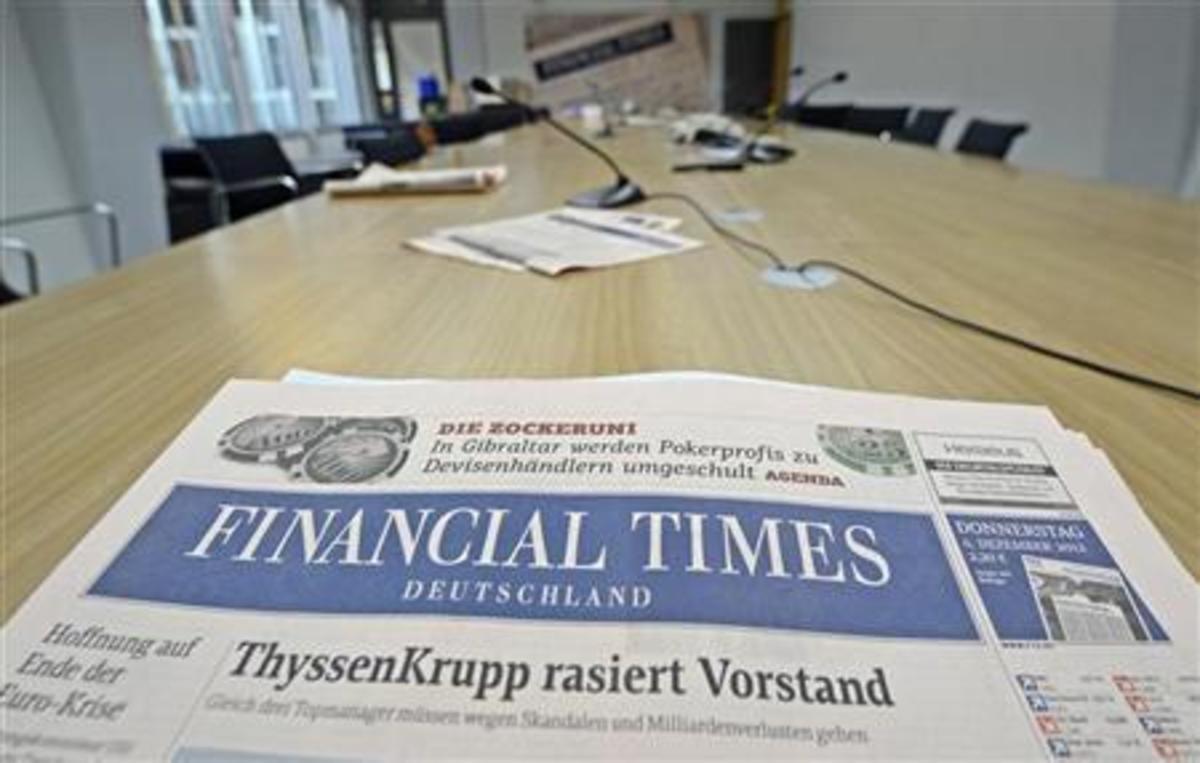 Απολύονται 25 εργαζόμενοι από τους Financial Times | Newsit.gr
