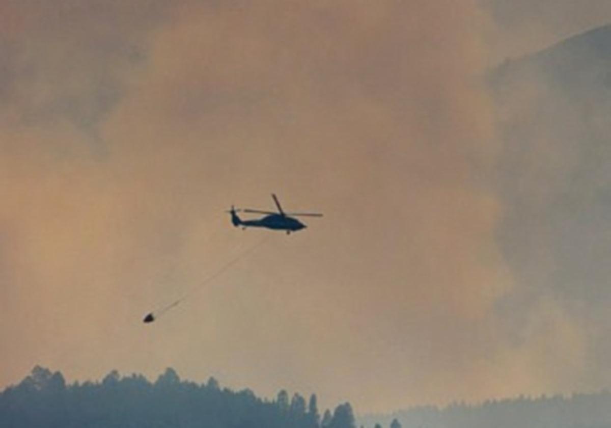 Φωτιά σε περιοχή γεμάτη πυρομαχικά του Β' Παγκοσμίου Πολέμου | Newsit.gr