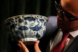 Μπολ της δυναστείας Μινγκ πωλήθηκε έναντι 29,5 εκατ. δολαρίων! [pics]