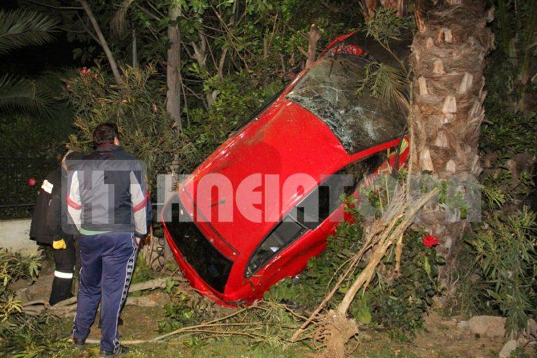 Ηλεία: Αυτοκίνητο… σκαρφάλωσε σε φοίνικα – Δείτε το βίντεο!   Newsit.gr