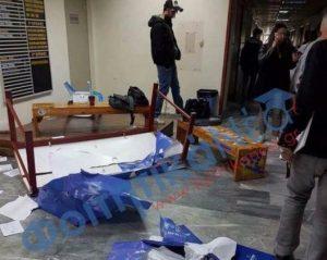 Εικόνες από τη «δολοφονική επίθεση» σε μέλη της ΔΑΠ ΝΔΦΚ [pics]