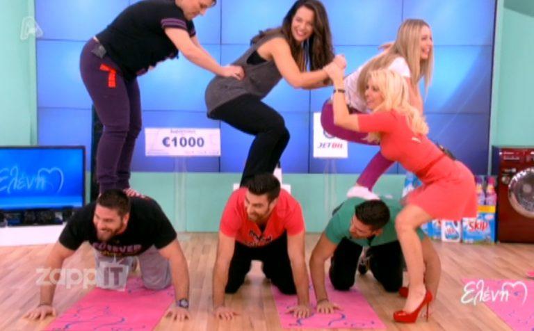 Ο γυμναστής κοιτούσε κάτω από το φόρεμα της Ελένης Μενεγάκη!   Newsit.gr