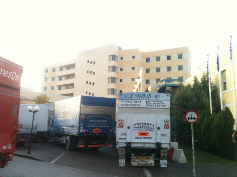 Στο υπουργείο Μεταφορών συγκεντρώθηκαν οι ιδιοκτήτες φορτηγών – Ζητούν παράταση στην απελευθέρωση του επαγγέλματός τους | Newsit.gr