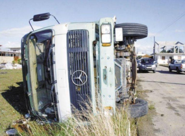 Ηράκλειο: Ξαφνικά είδαν μπροστά τους ένα φορτηγό! | Newsit.gr