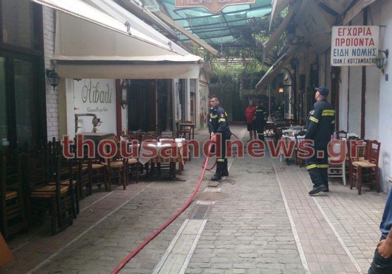 Φωτιά σε εστιατόριο στο κέντρο της Θεσσαλονίκης | Newsit.gr