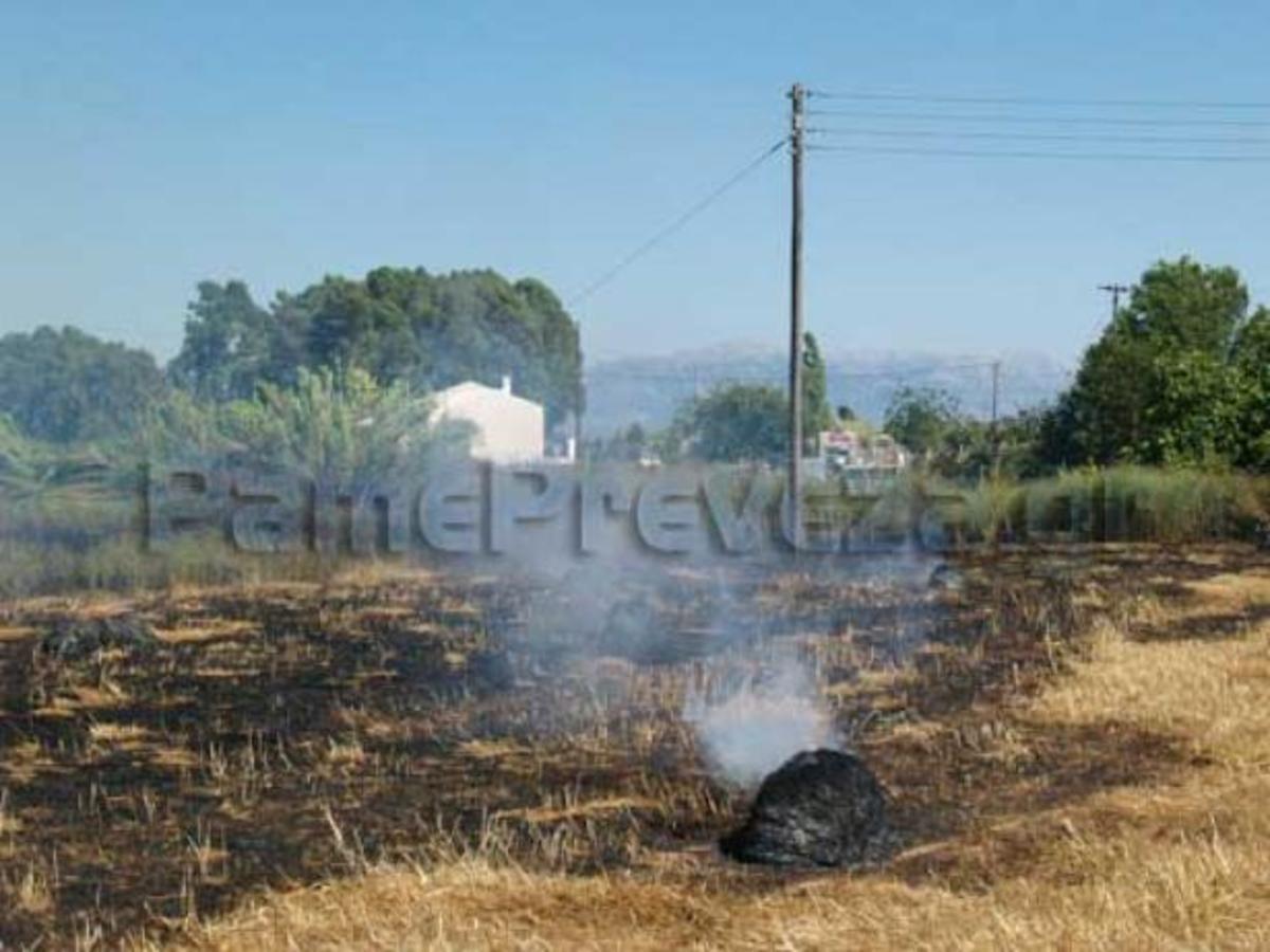 Φωτιά κοντά σε σπίτια στην Πρέβεζα | Newsit.gr