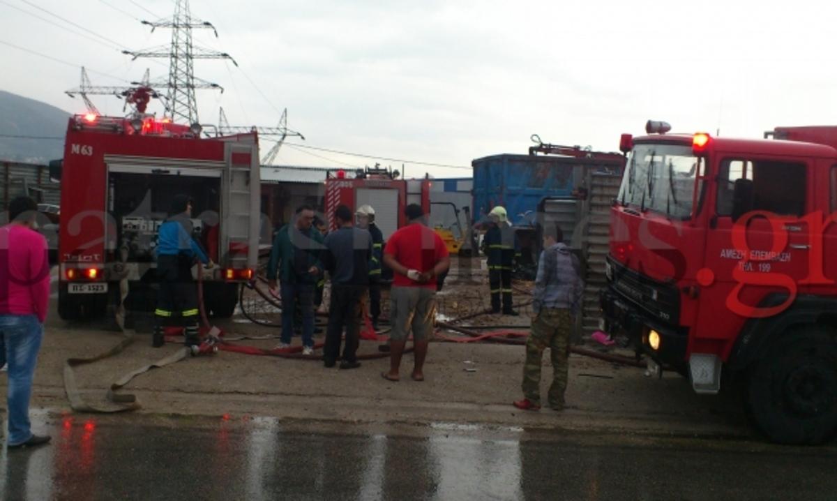 Αχαΐα: Έκρηξη και φωτιά σε χυτήριο! | Newsit.gr