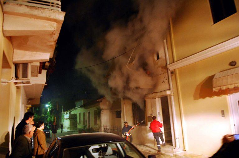 Ηλεία: Ξέσπασε πυρκαγιά σε σπίτι στην Αρχαία Ολυμπία | Newsit.gr