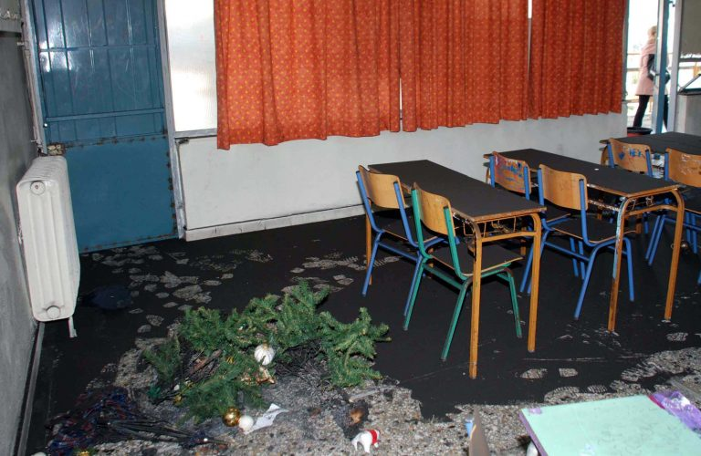 Καλαμάτα: Φωτιά σε σχολείο   Newsit.gr