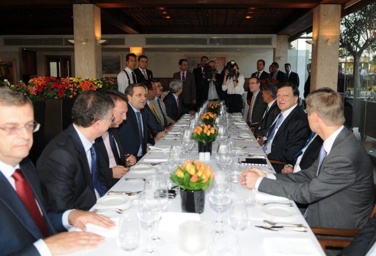Το δείπνο του πρωθυπουργού με τον Μπαρόζο – ΦΩΤΟ | Newsit.gr