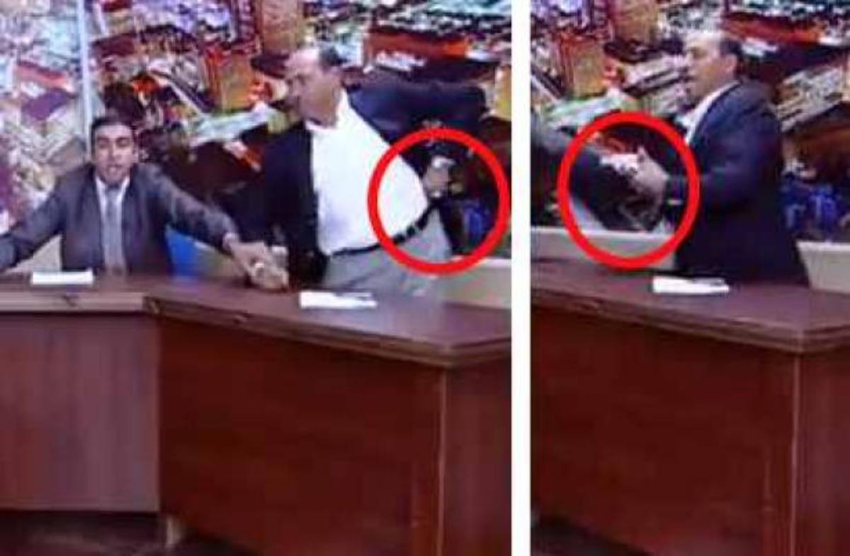 Βουλευτής έβγαλε όπλο σε τηλεοπτικό καυγά!Video   Newsit.gr