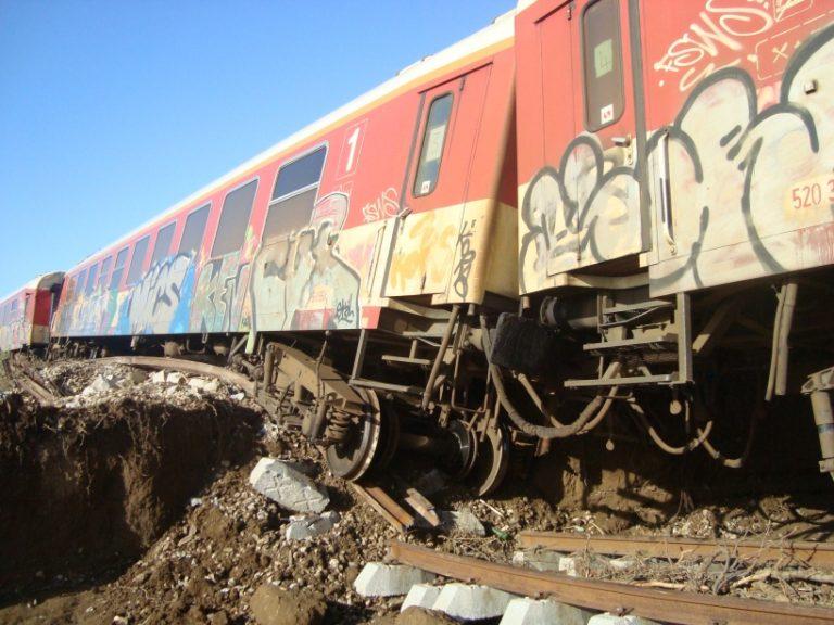Κατέρρευσε γέφυρα και εκτροχιάστηκε τρένο στο Σούνιο Ξάνθης – BINTEO   Newsit.gr