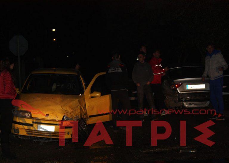 Πύργος: Τροχαίο με δύο τραυματίες στην Αγίου Γεωργίου   Newsit.gr