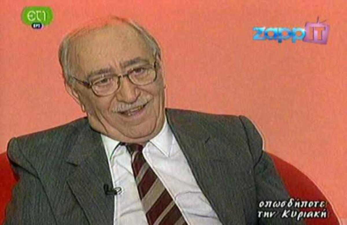 Τι έλεγε ο Αθηνόδωρος Προύσαλης για τον θάνατο   Newsit.gr