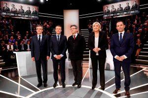 Γαλλία: Debate «comme il faut» – Αμηχανία, μπουρκίνι και… νικητής ο Μακρόν [pics, vids]