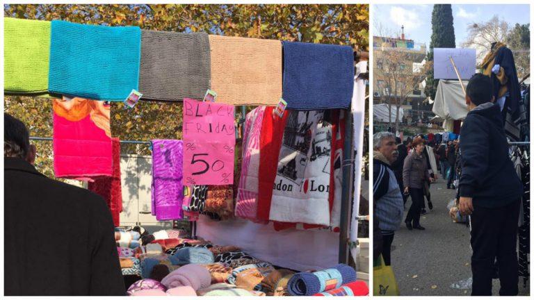 Ξάνθη: Διακωμώδηση της Black Friday στο παζάρι – Οι υποσχέσεις των εμπόρων [pics] | Newsit.gr