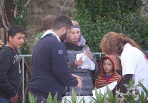 Έφτασαν στο Φρούριο των Τρικάλων οι πρόσφυγες – ΦΩΤΟ