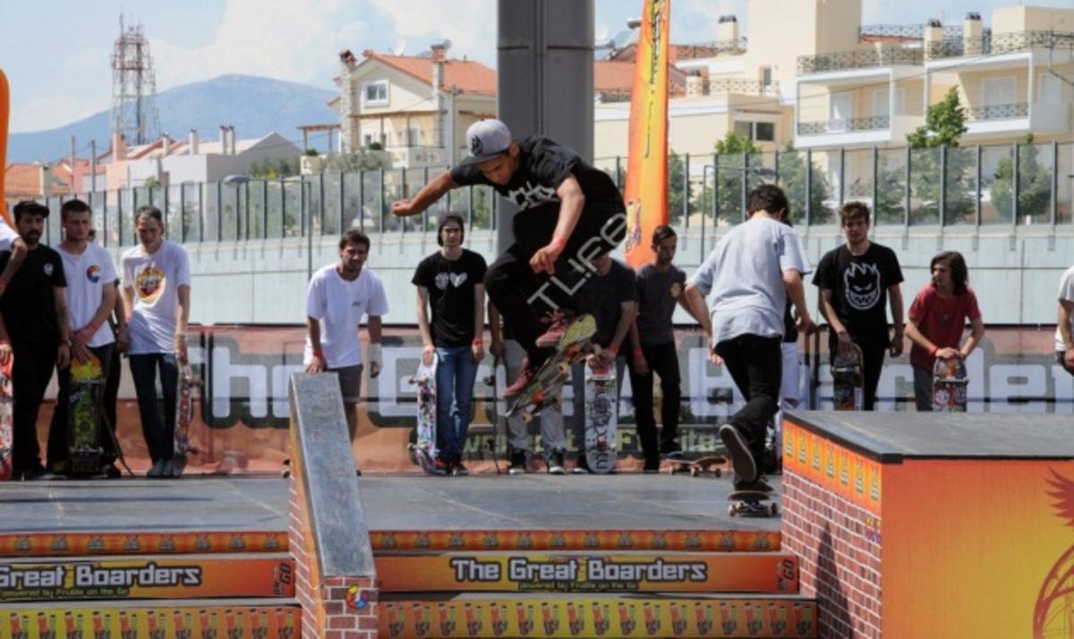 To TLIFE στο 2ημερο skateboard event της Frulite! Δες φωτογραφίες | Newsit.gr