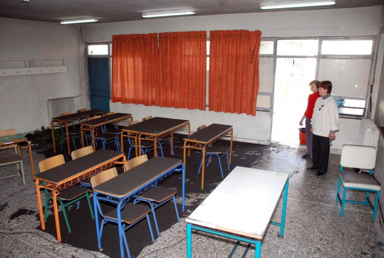 Έκαναν «στάχτη» τάξη στα Χανιά | Newsit.gr