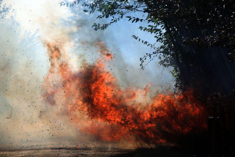 Μεγάλη φωτιά στο Αλιβέρι | Newsit.gr