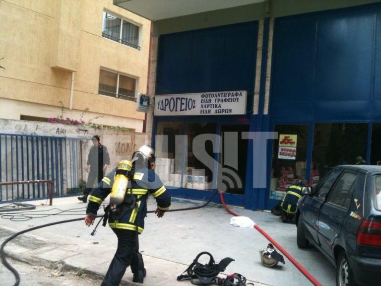 Έσβησε η πυρκαγιά σε κατάστημα στο Π.Φάληρο – Τραυματίστηκε ο ιδιοκτήτης | Newsit.gr
