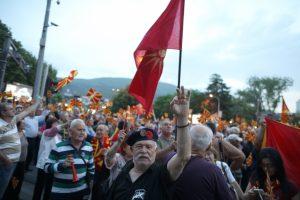 """Χάος στα Σκόπια! Η αντιπολίτευση θα εκλέξει """"νέα κυβέρνηση"""""""