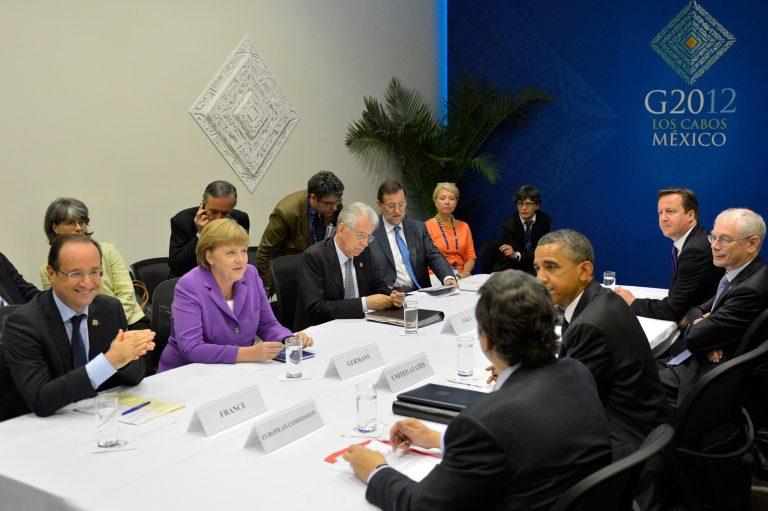 Επεισόδιο στη σύνοδο κορυφής της G20 στο Μεξικό | Newsit.gr