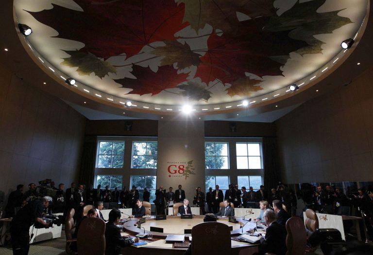 Δεν φαίνεται να συμφωνούν για τη φορολογία στις τράπεζες οι G8 | Newsit.gr