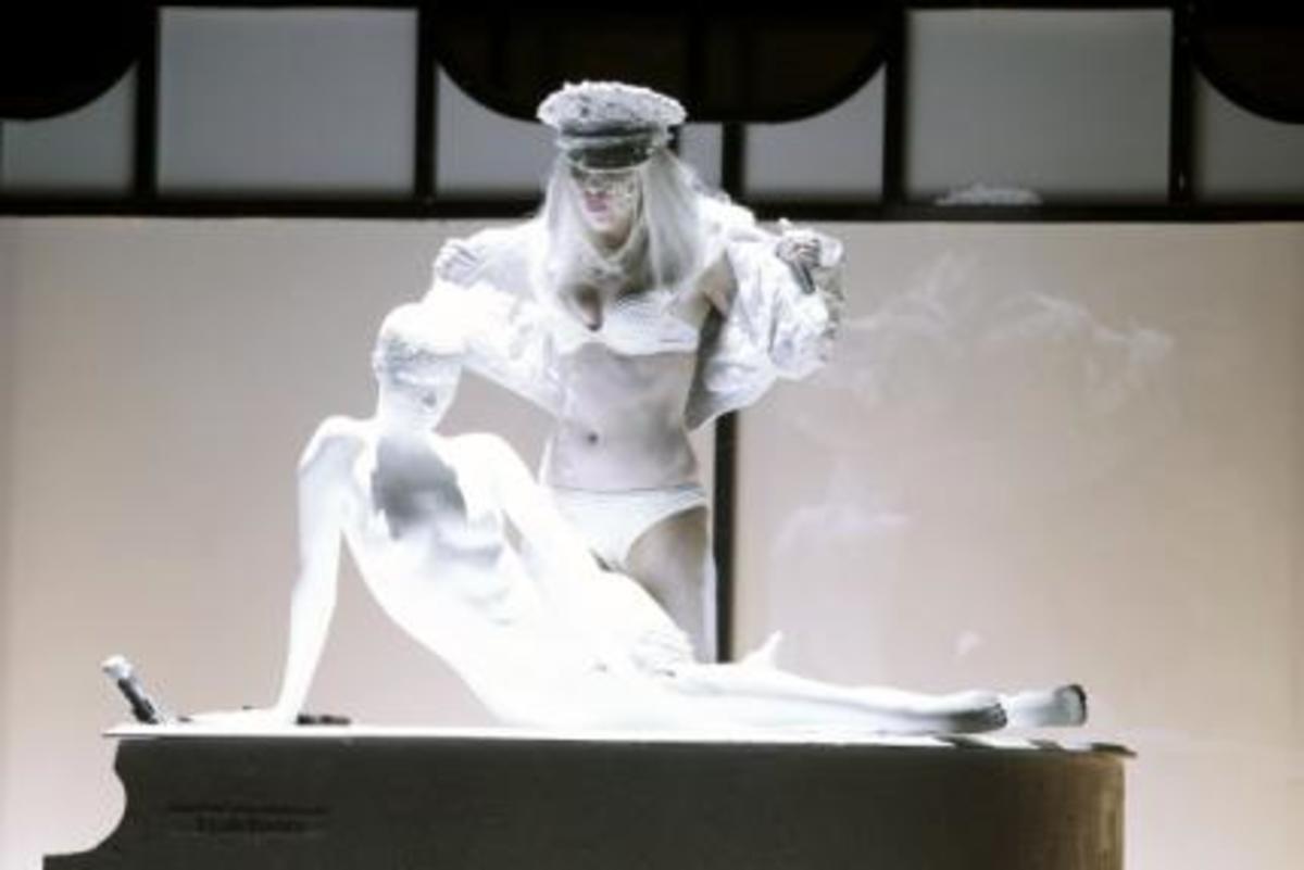 Η πιο extreme εμφάνιση της lady Gaga!   Newsit.gr