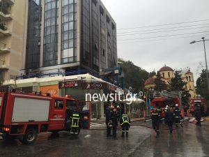Φωτιά σε διαμέρισμα στο Γαλάτσι – Δεν υπάρχουν εγκλωβισμένοι [pics]