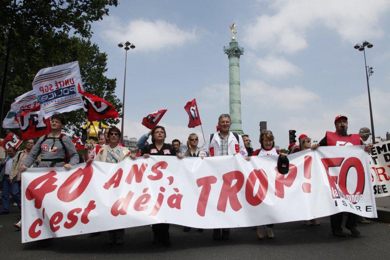 «Όχι» των Γάλλων στο νέο ασφαλιστικό | Newsit.gr