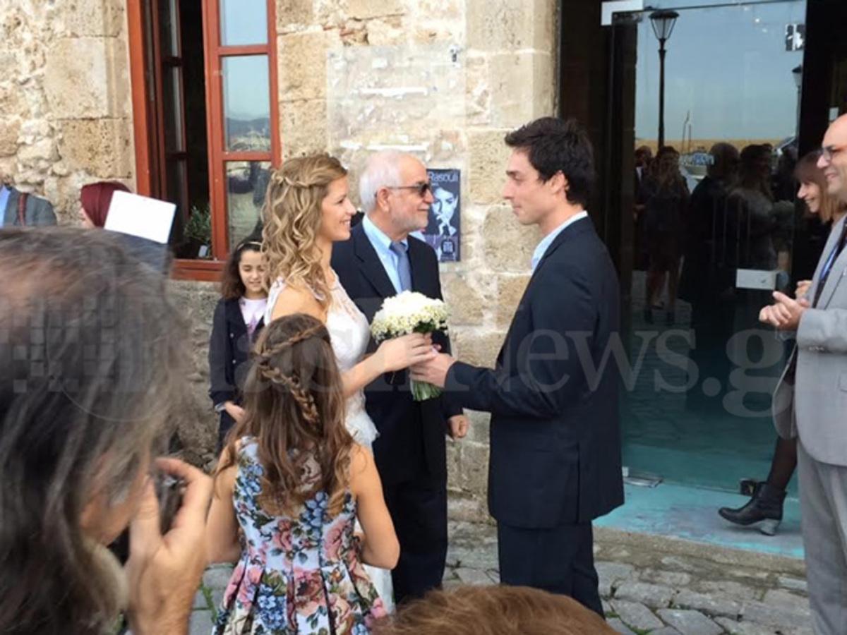 Χανιά  Ρομαντικός γάμος της κόρης γνωστής επιχειρηματία στην παλιά πόλη  (ΦΩΤΟ)  6b668c3e168
