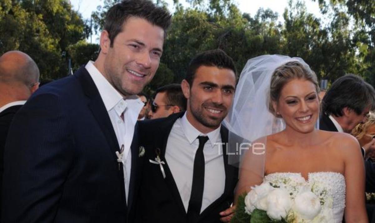 Γ. Μανιάτης – Ι. Γαλλή: Παντρεύτηκαν με κουμπάρο τον Χ. Χολίδη! Φωτογραφίες | Newsit.gr